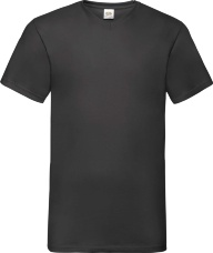 Футболка унисекс с V вырезом FOL Valueweight V-Neck
